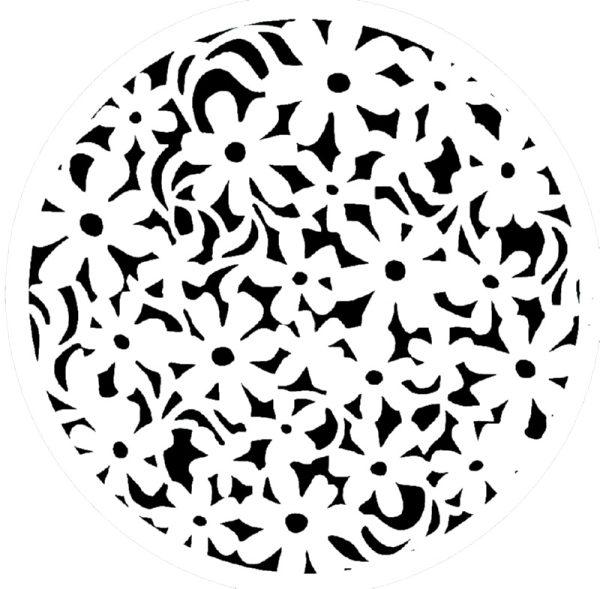 Στένσιλ Decofoam D-0102039 - 25x25cm
