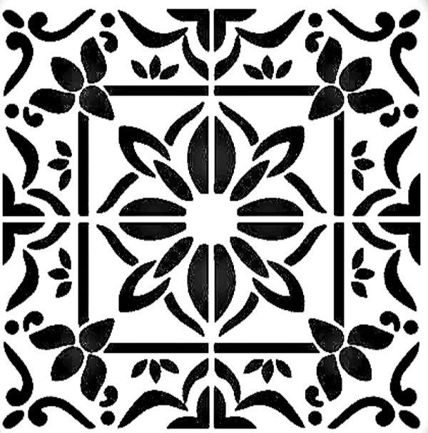 Στένσιλ Decofoam D-0102040 - 25x25cm