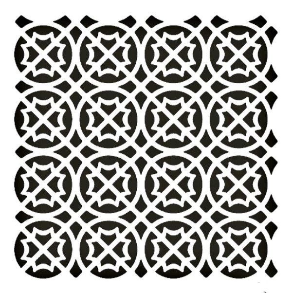 Στένσιλ Decofoam D-0102070 - 25x25cm