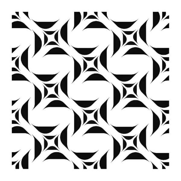 Στένσιλ Decofoam D-0102100 - 50x50cm