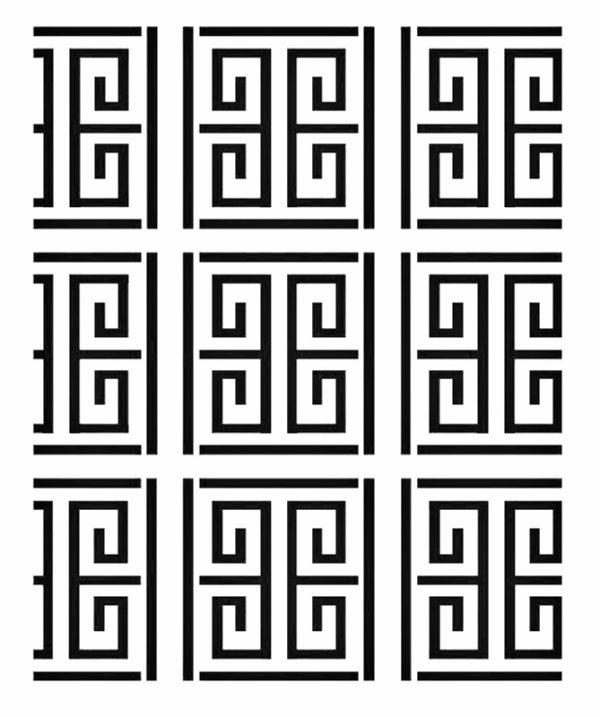 Στένσιλ Decofoam D-0102112 - 50x50cm