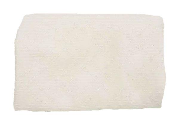 Λευκό Καρό Ύφασμα Τσόχα Γκλίτερ DF00459  50x50cm