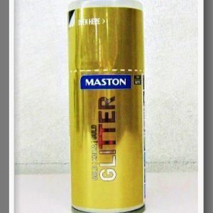 Maston Σπρέι Glitter 3011 Χρυσό 150ml