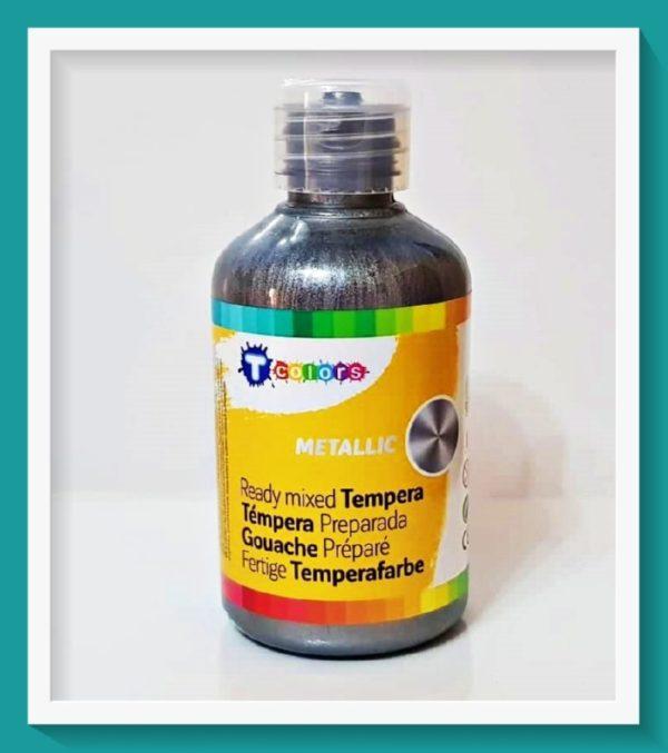 Μεταλλική Τέμπερα Tcolors Ασημί D-7944569 250ml