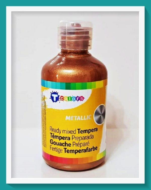 Μεταλλική Τέμπερα Tcolors Mπρονζέ D-7944571 250ml