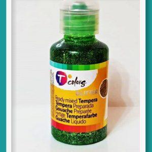 Γκλίτερ Τέμπερα Tcolors Πράσινο D-7944574 125ml