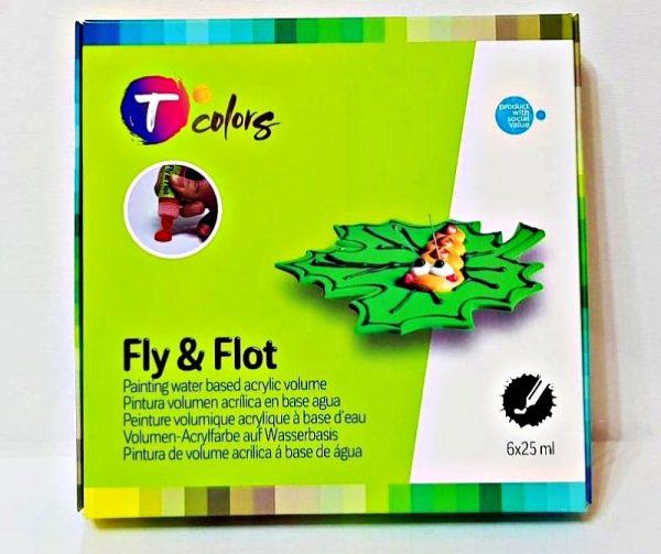 Tcolors Fly & Flot Volume Paints D-7944679 Σετ 6τμχ  25ml