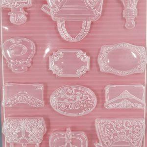 Εύκαμπτο Καλούπι Stamperia K3PTA45 για σαπούνι και γύψο 21x29.7cm6