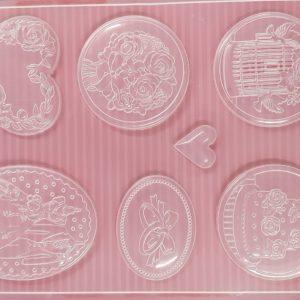 Εύκαμπτο Καλούπι Stamperia K3PTA461 για σαπούνι και γύψο 21x29.7