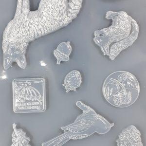 Εύκαμπτο Καλούπι Stamperia K3PTA463 για σαπούνι και γύψο 21x29.7cm
