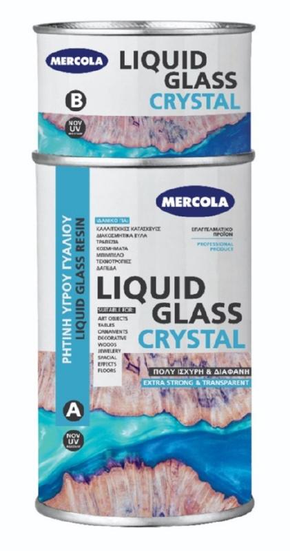 Υγρό Γυαλί Crystal 1kg