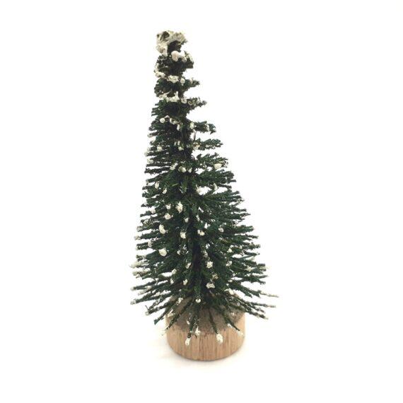 Διακοσμητικό δεντράκι πράσινο 3x6.5cm 4567